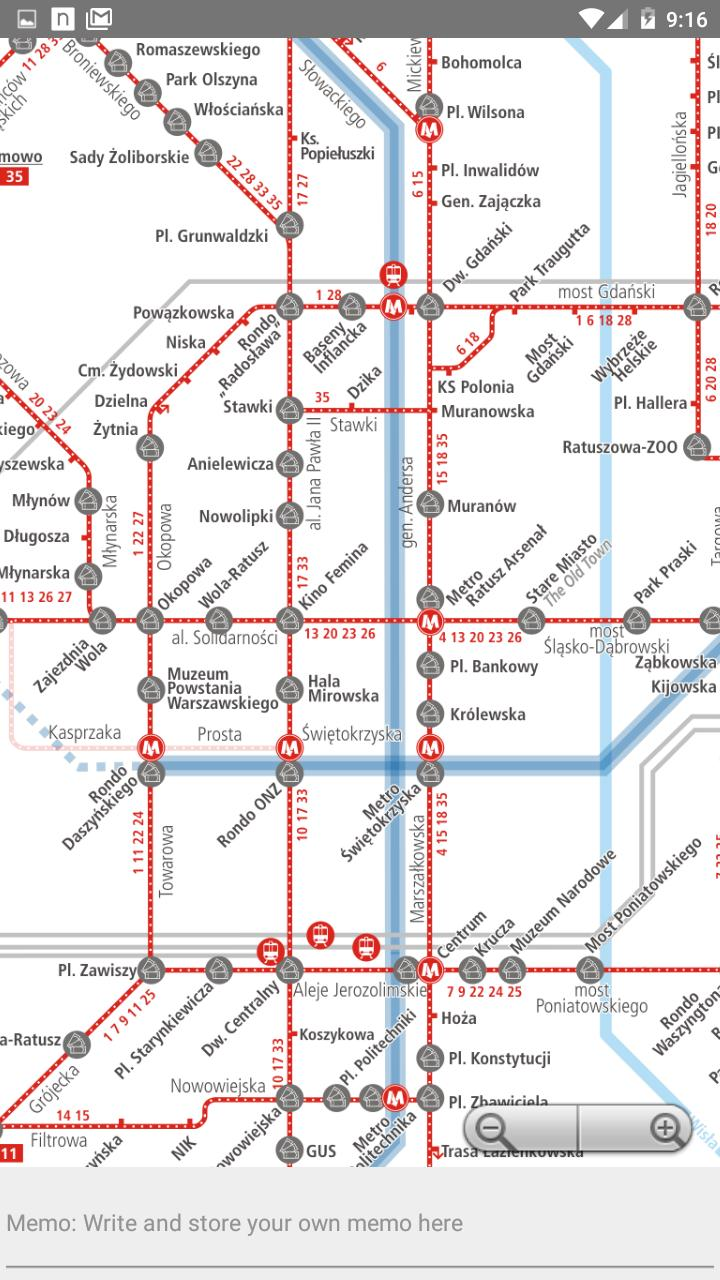 Warsaw Metro Map Offline for Android - APK Download