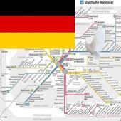 Hannover Metro, Bus, Tour Map Offline電車メトロオフライン地図 icon