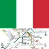 Rome Metro, Train, Bus, Tour Map Offline icon