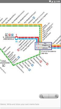 Rome Metro, Train, Bus, Tour Map Offline screenshot 3
