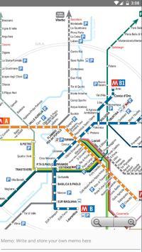 Rome Metro, Train, Bus, Tour Map Offline screenshot 2