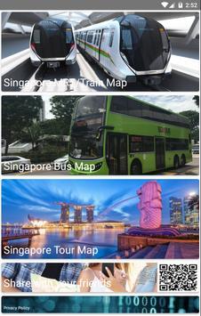 Singapore Metro, Bus, Tour Map Offline メトロオフライン地図 screenshot 1