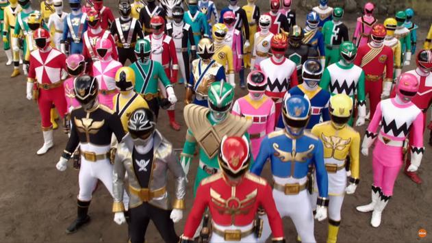 100 + Power Rangers Episodes English. poster