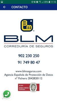 BLM - Correduría de Seguros poster