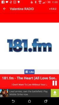 Love Songs & Valentine RADIO screenshot 3