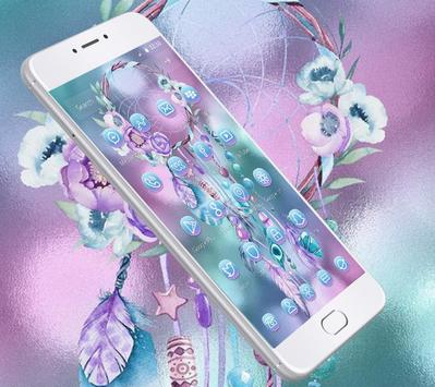 Blue Beautiful Dream Catcher Theme screenshot 1