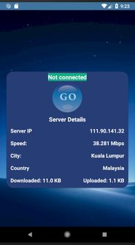Blue VPN free Unlimited Bandwidth screenshot 4