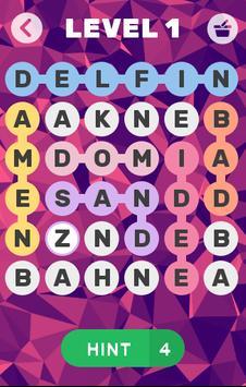 Wörter Rätsel poster