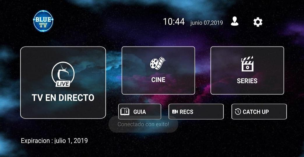 Blue TV for Android - APK Download