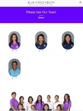 Blue World Health screenshot 1