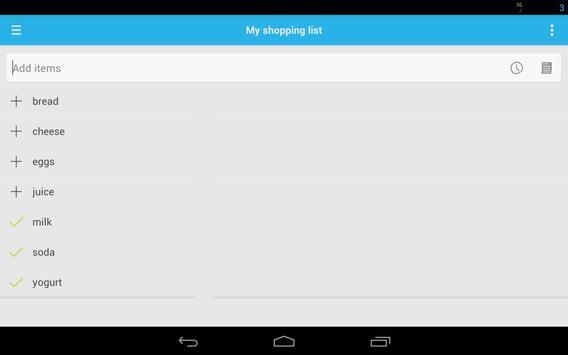 Shopping List screenshot 12