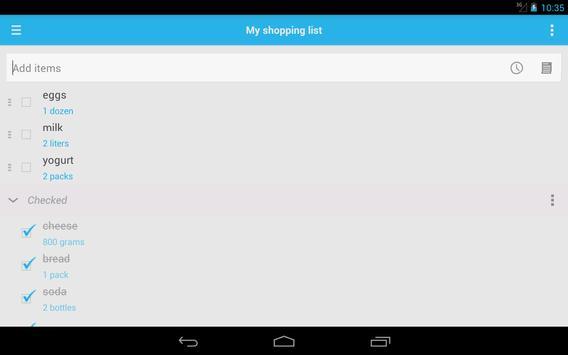 Shopping List screenshot 13