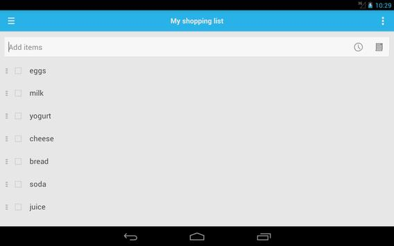 Shopping List screenshot 8