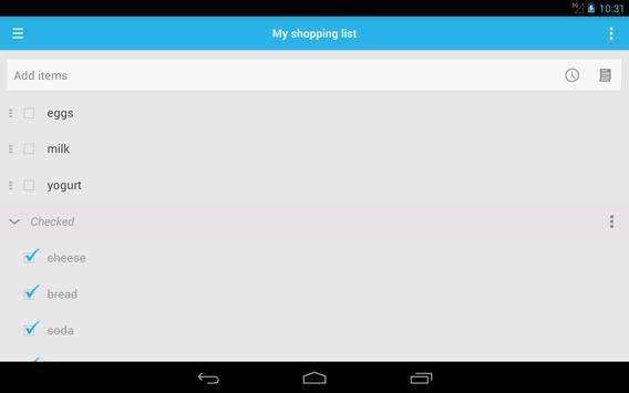 Shopping List screenshot 9