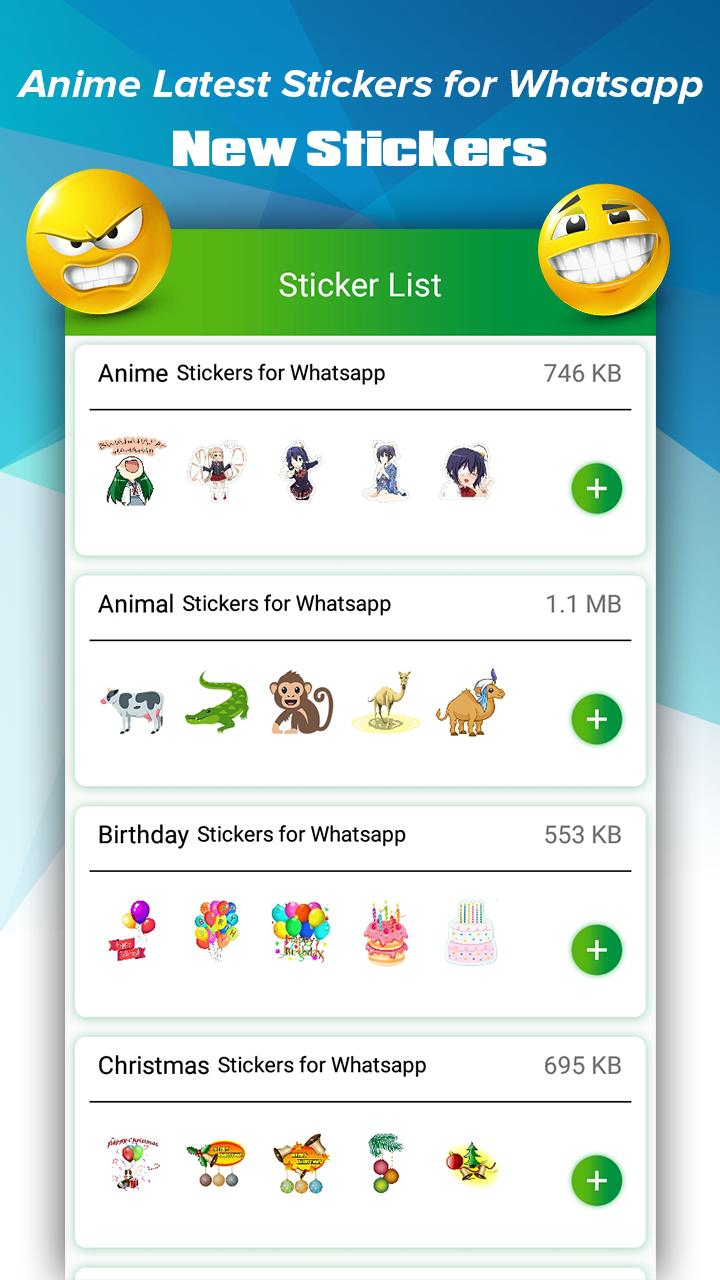 Anime Stickers For Whatsapp New Anime Stickers For Android Apk Download