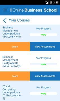 Online Business School screenshot 2
