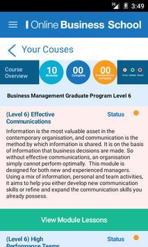 Online Business School screenshot 3
