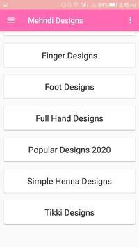 Mehndi Designs स्क्रीनशॉट 1