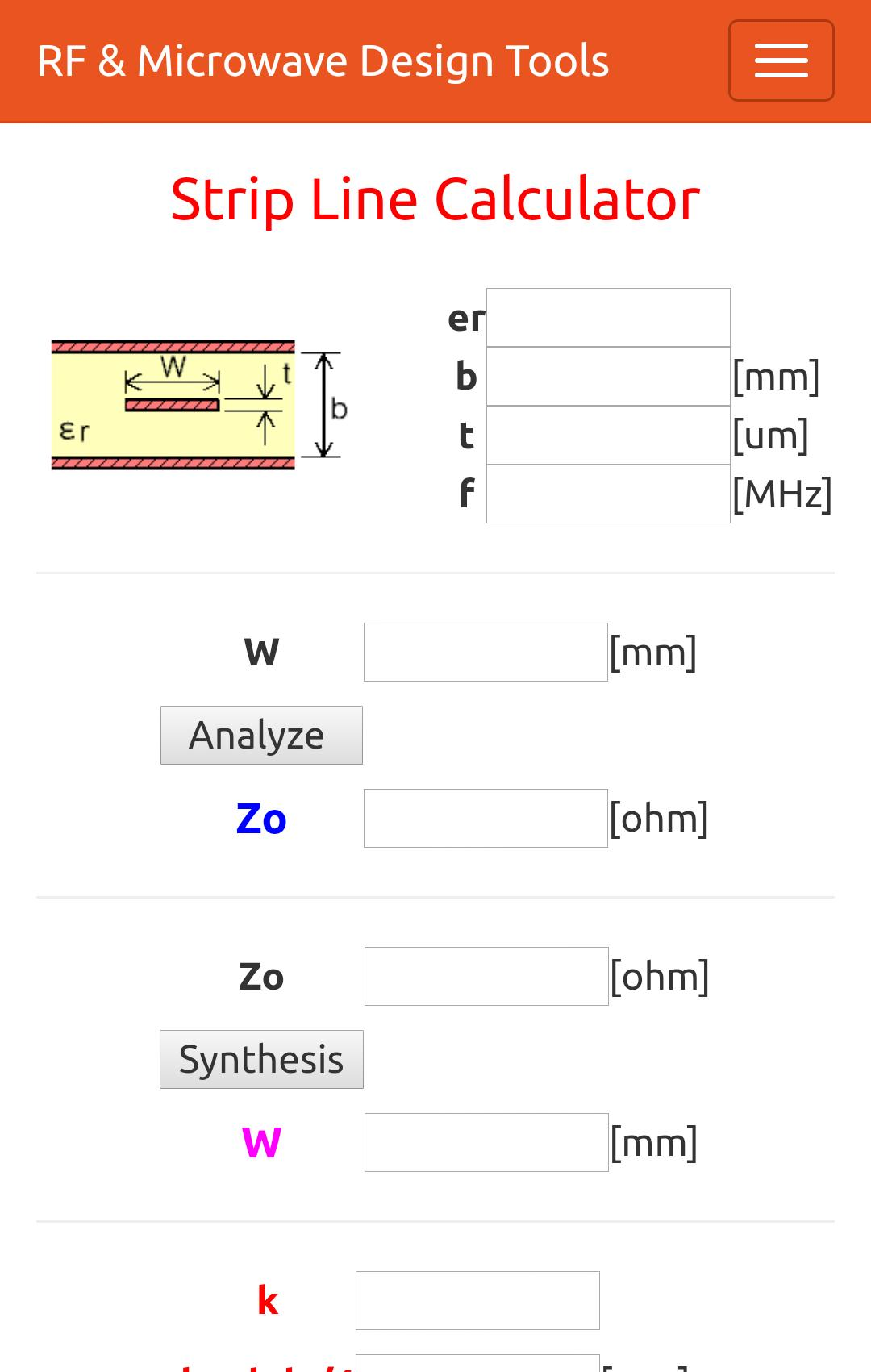 RF & Microwave Design Tools for Android - APK Download