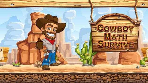 Cowboy Math Survive poster