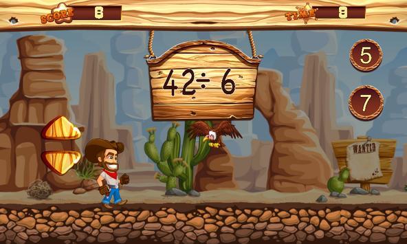 Cowboy Math Survive screenshot 3
