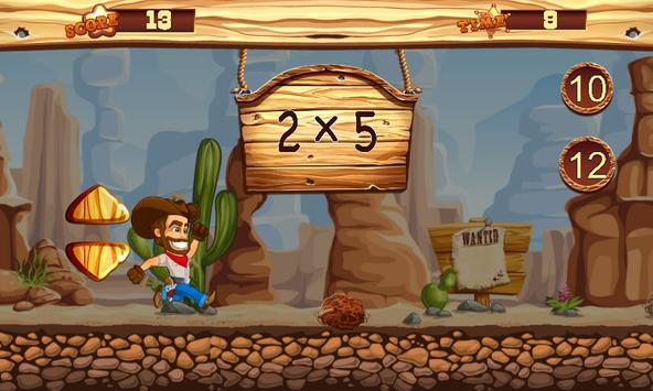 Cowboy Math Survive screenshot 4