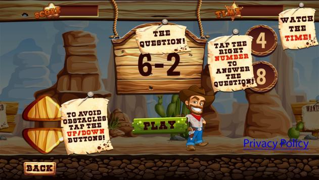 Cowboy Math Survive screenshot 9