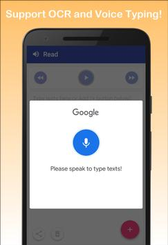 Text to Speech - Read Aloud screenshot 2
