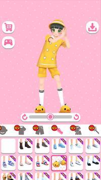 Styledoll! - Hiasi 3D avatar Anda screenshot 1