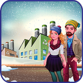 Winter Cloth & Shoes Maker Factory: Dress Game icon