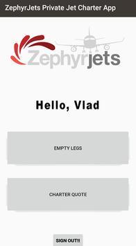 ZephyrJets Private Jet Best Business Charter Jets screenshot 2
