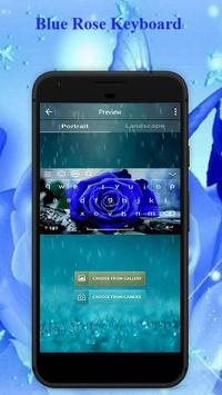 Blue Rose Keyboard Theme screenshot 1