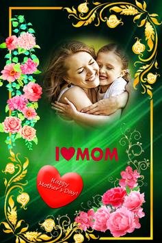 Happy mother's day photo frame 2019 poster