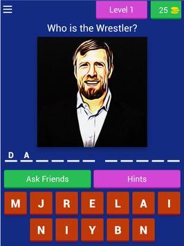 Wrestling RAW Quiz screenshot 5