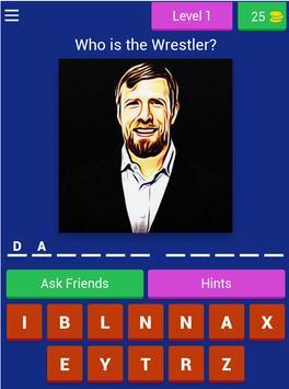 Wrestling RAW Quiz screenshot 7