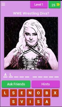 Wrestling Superstars Diva Quiz poster