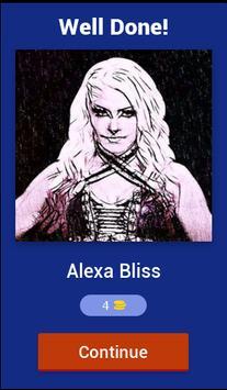 Wrestling Superstars Diva Quiz screenshot 1