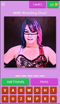 Wrestling Superstars Diva Quiz screenshot 2