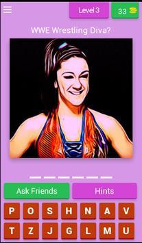 Wrestling Superstars Diva Quiz screenshot 3