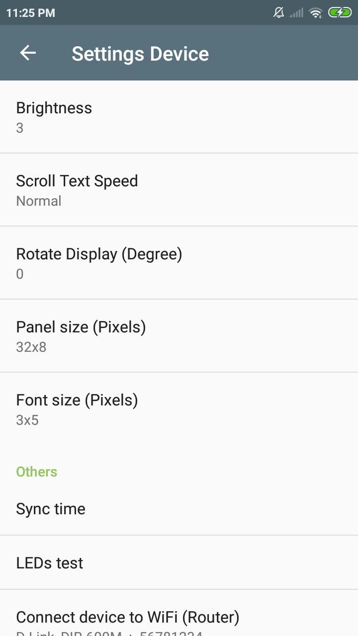 ESP Matrix Offline - a DIY Dot Matrix Clock (JWS) for Android - APK