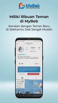 Sosial Media Terkini Gratis Jutaan Gift - MyBeb screenshot 2