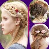 Girl Hairstyle Step By Step 2019 icon