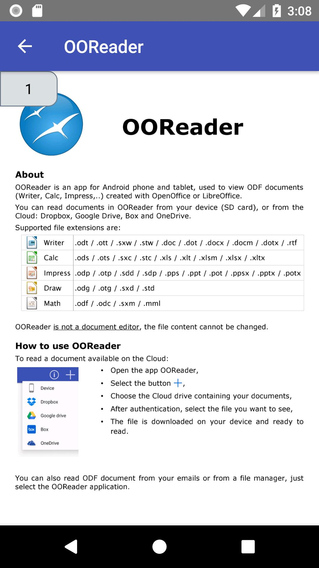 OOReader for Android - APK Download