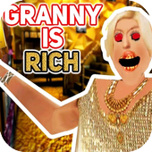 Scary Rich Granny - 2019 Horror Game icon