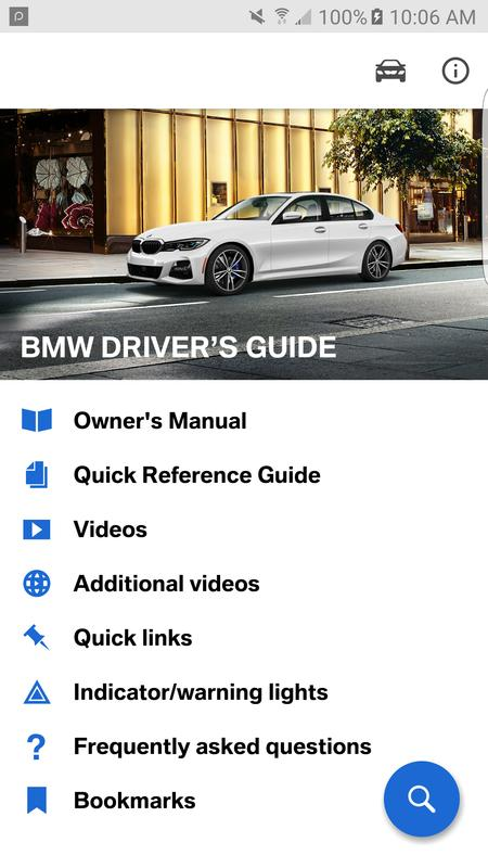 bmw driver's guide for android - apk download