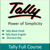 Learn Tally Erp.9 and GST Hindi and English icon