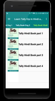 Learn Tally Erp.9 and GST Hindi and English screenshot 2