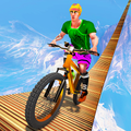 BMX Mega Ramp Stunts