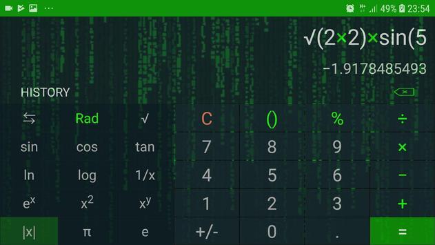 Hacker Calculator : No Ads, No permission screenshot 3