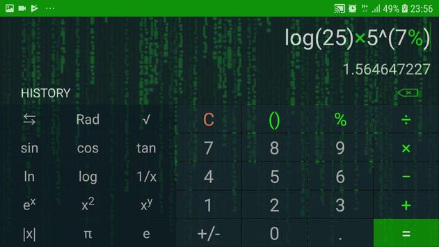 Hacker Calculator : No Ads, No permission screenshot 1